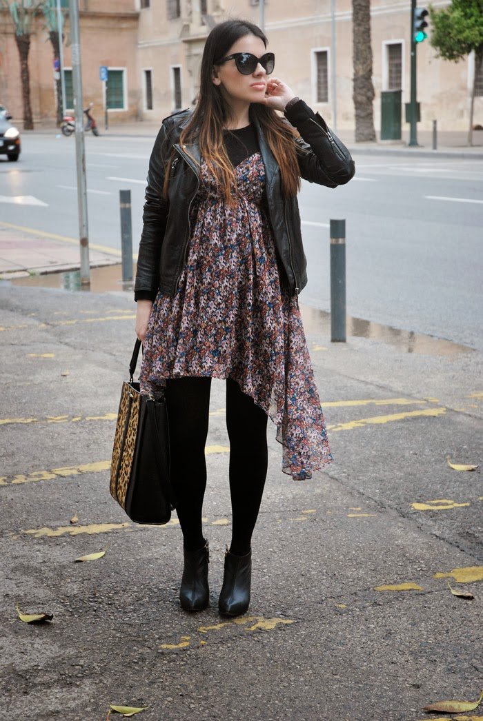 Floral Dress StreetStyle