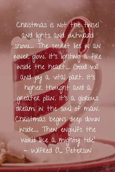 Sayings and quotes about Christmas holiday