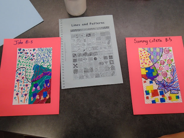 Elementary Patterns and Designs