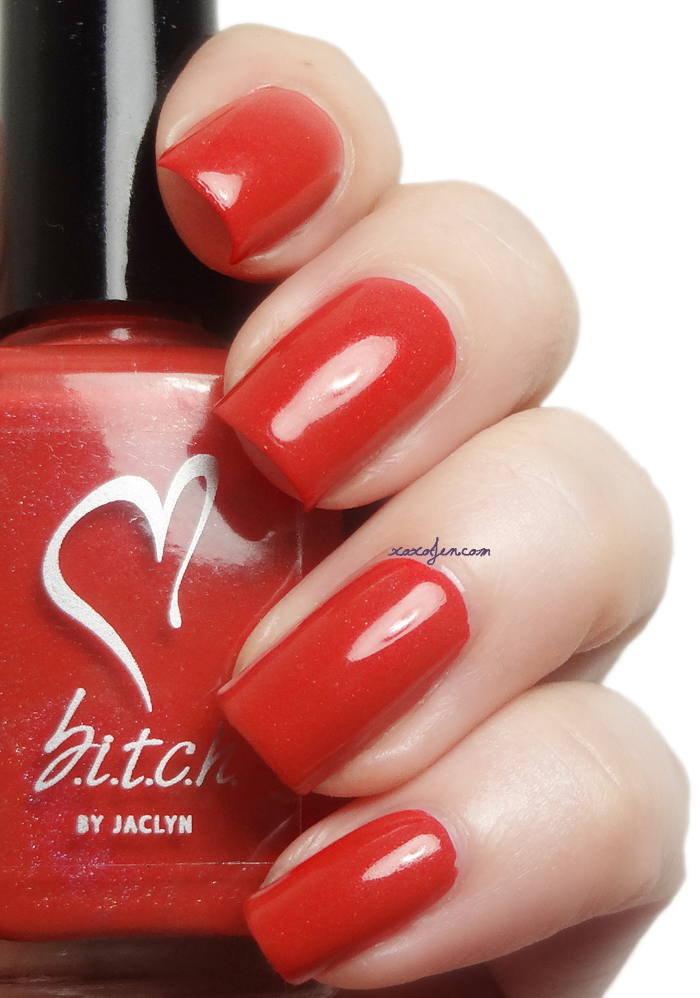 xoxoJen's swatch of b.i.t.c.h. by jaclyn De-Flowered