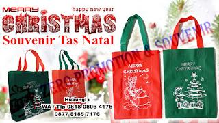 Tas/ Goodiebag Untuk Souvenir Natal