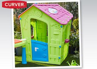 Domek dla dzieci Curver z Biedronki