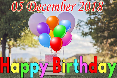 Happy Birth day wishes Image wallpaperToday 05-12-2018