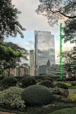 Zuellig Building, Ayala Triangle Park, Makati, Manila, Philippines