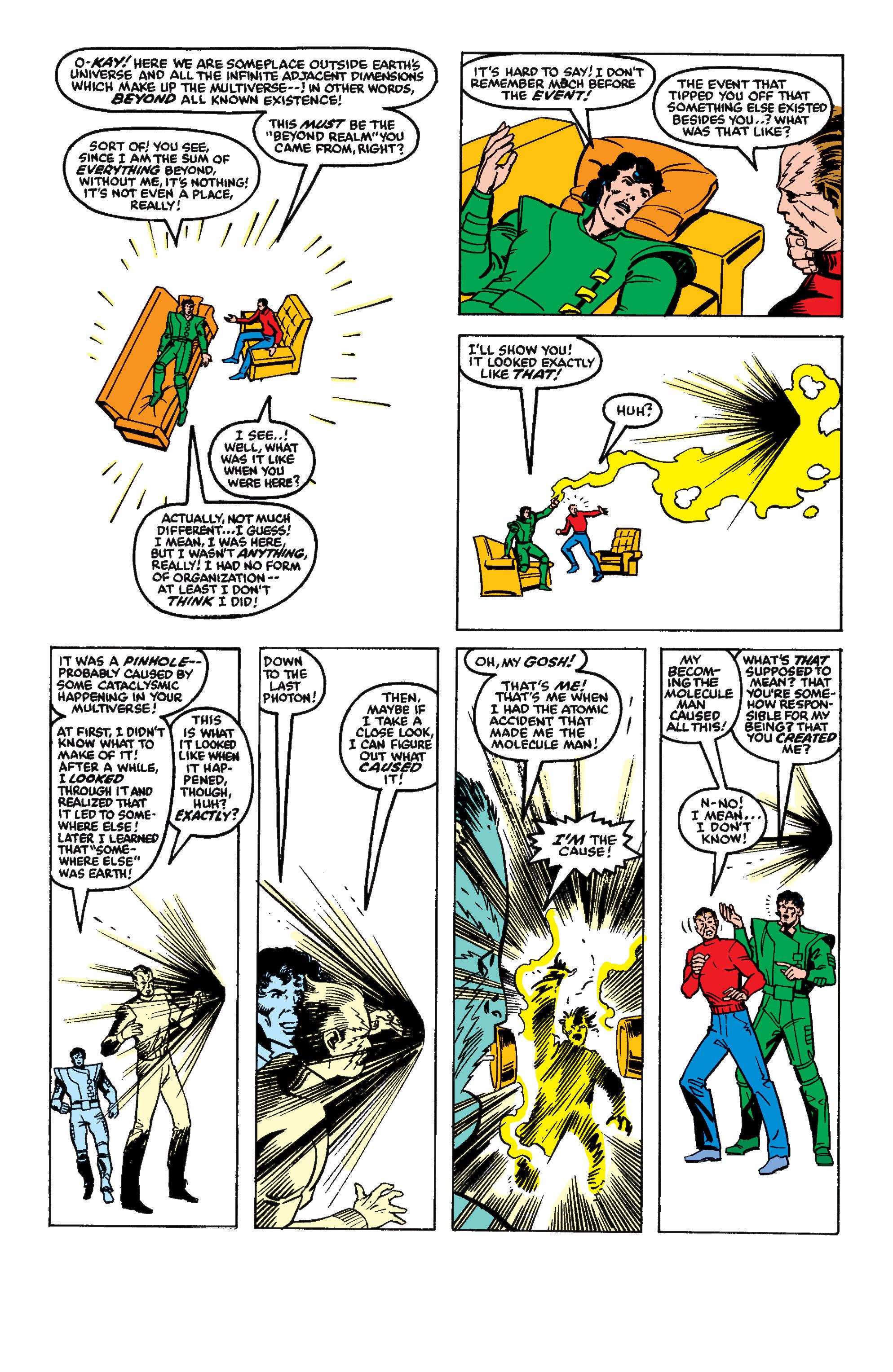 Read online Secret Wars II comic -  Issue #8 - 5