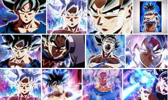 Goku Instinto Superior Como Aprender A Desenhar