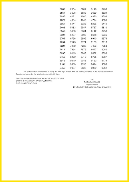Kerala Lottery Result 04-12-2018 Sthree Sakthi Lottery Results SS-134 keralalotteriesresults.in-page-002