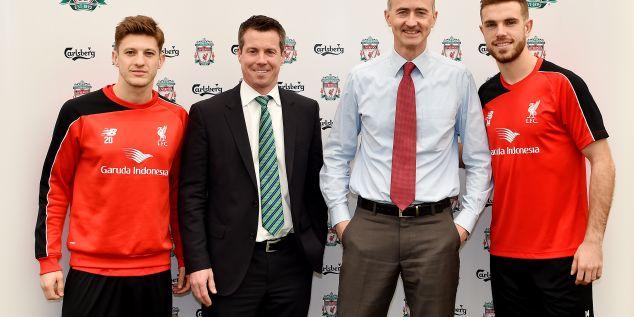 El Liverpool renueva su relación con Carlsberg