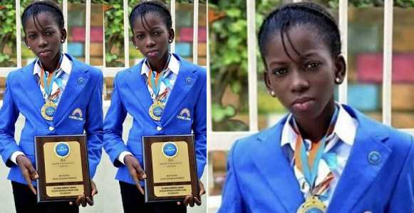 Meet 14-year-old Nigerian Schoolgirl, Oluwatunmise Idowu, With An 'Electric Brain' (Photo)