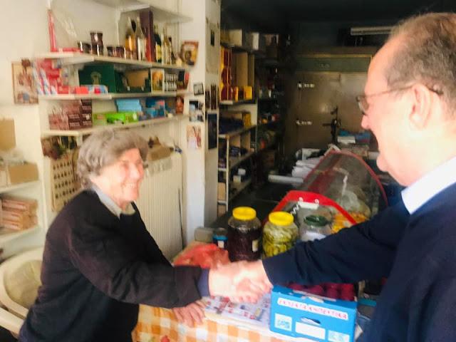 Παναγιώτης Νίκας από τα χωριά της Μεσσηνίας: Επιλέγουμε τα έργα και όχι τα λόγια