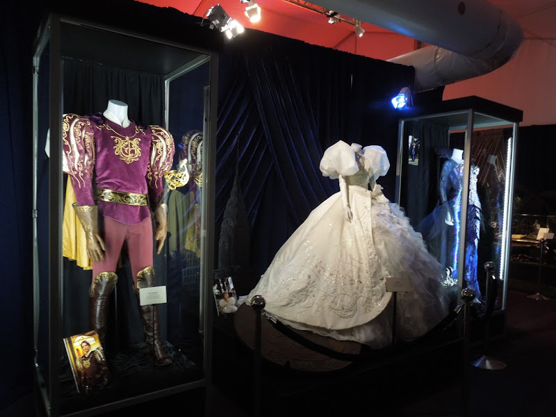 Original Enchanted movie costume exhibit