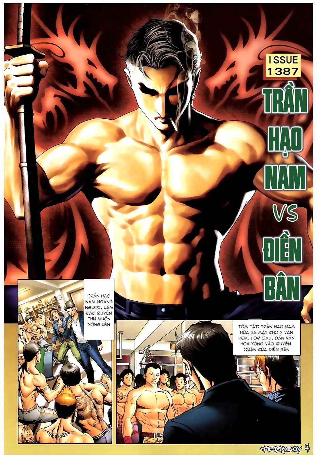 Người Trong Giang Hồ - Chapter 1387: Hạo Nam vs Điền Bân - Pic 2