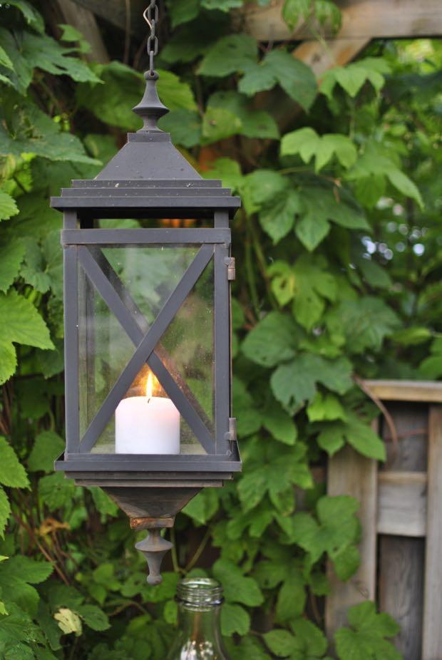 humle ljuslykta trädgård hannashantverk.blogspot.se