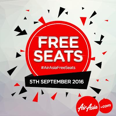AirAsia Free Seats Promotion Zero Fares