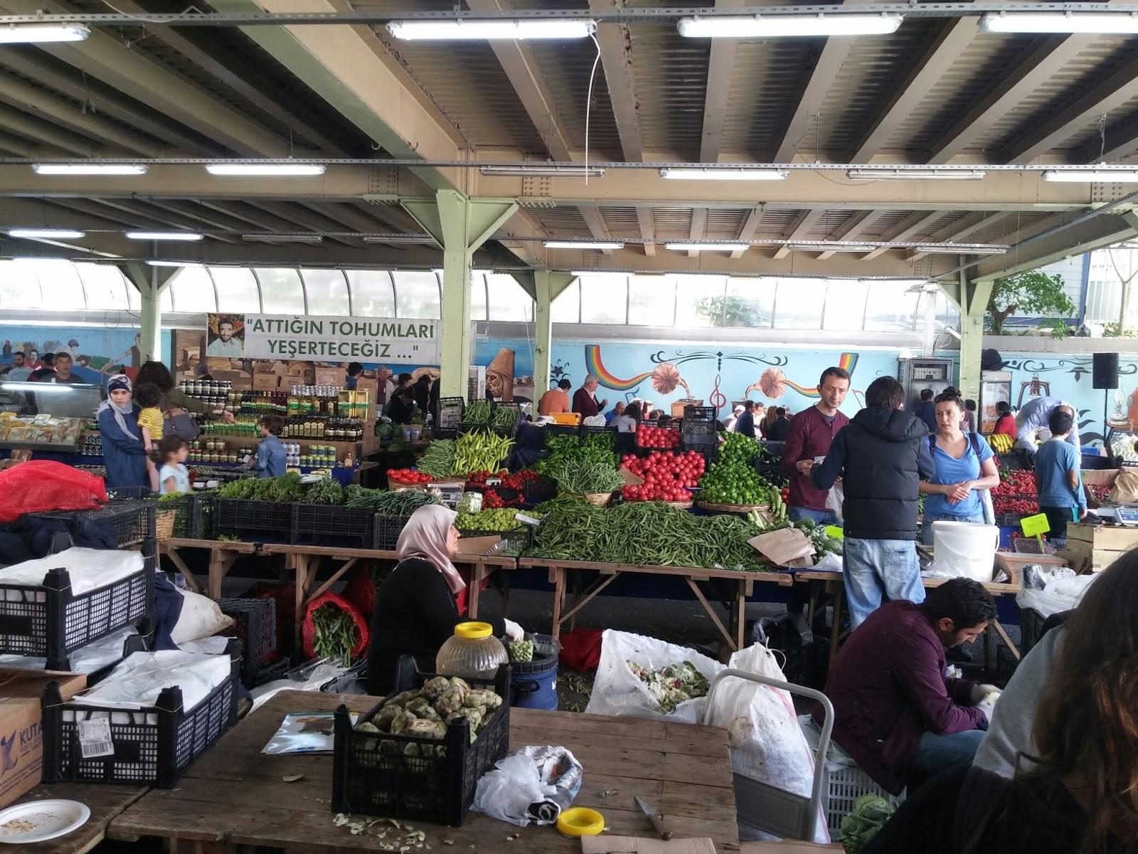 İstanbulda bulunan organik pazarlar