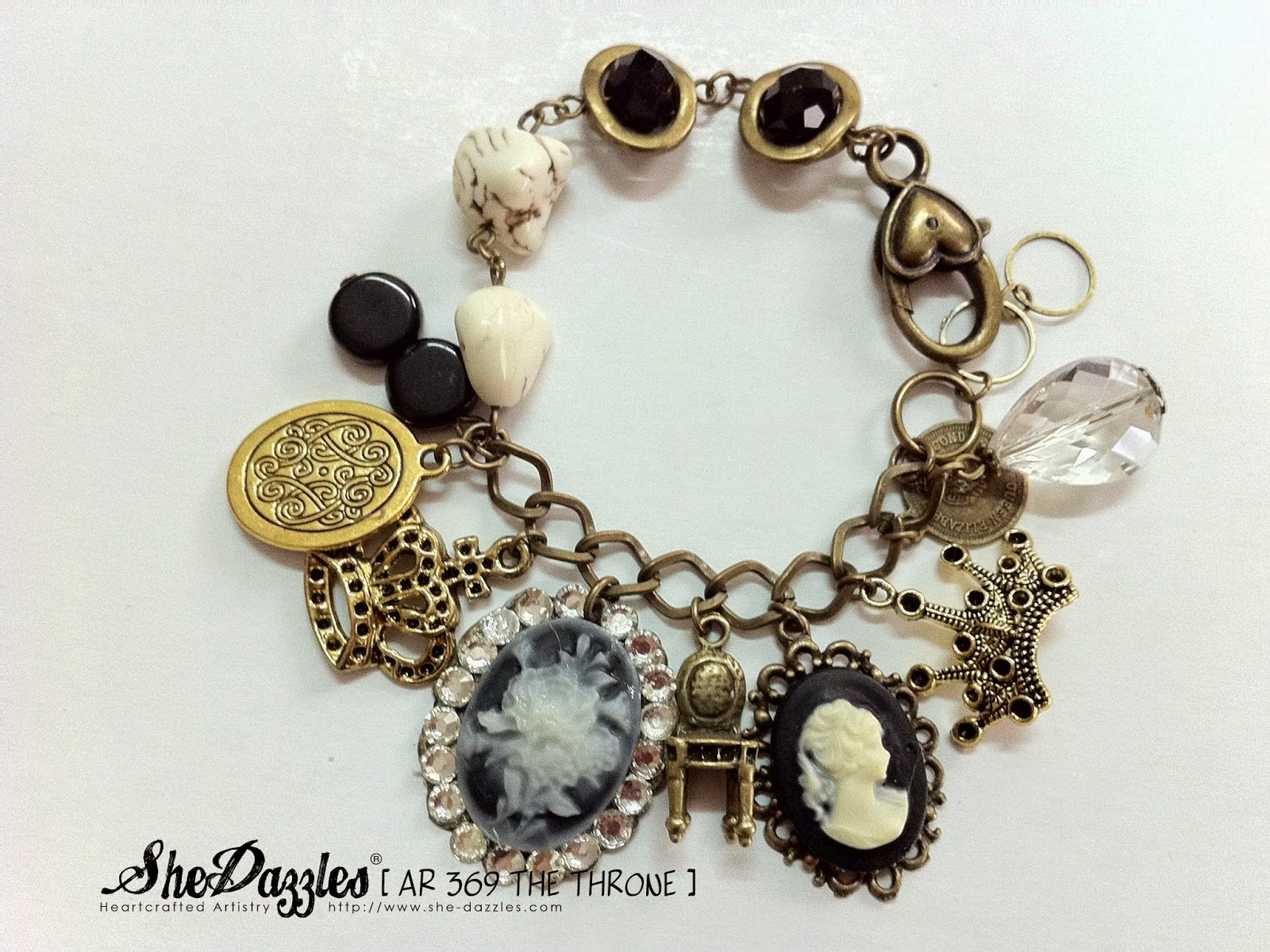 brass-pendant-charm-bracelet