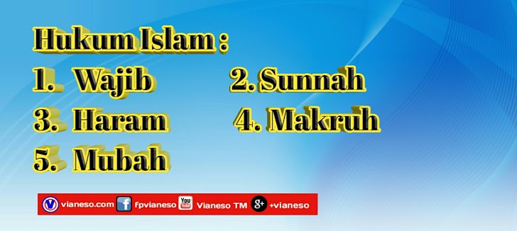 Pengertian Dan Macam Macam Hukum Islam