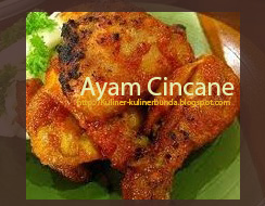 Resep Kuliner Ayam Cincane Kalimantan Timur
