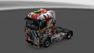 Disney Skin for Mercedes MP4