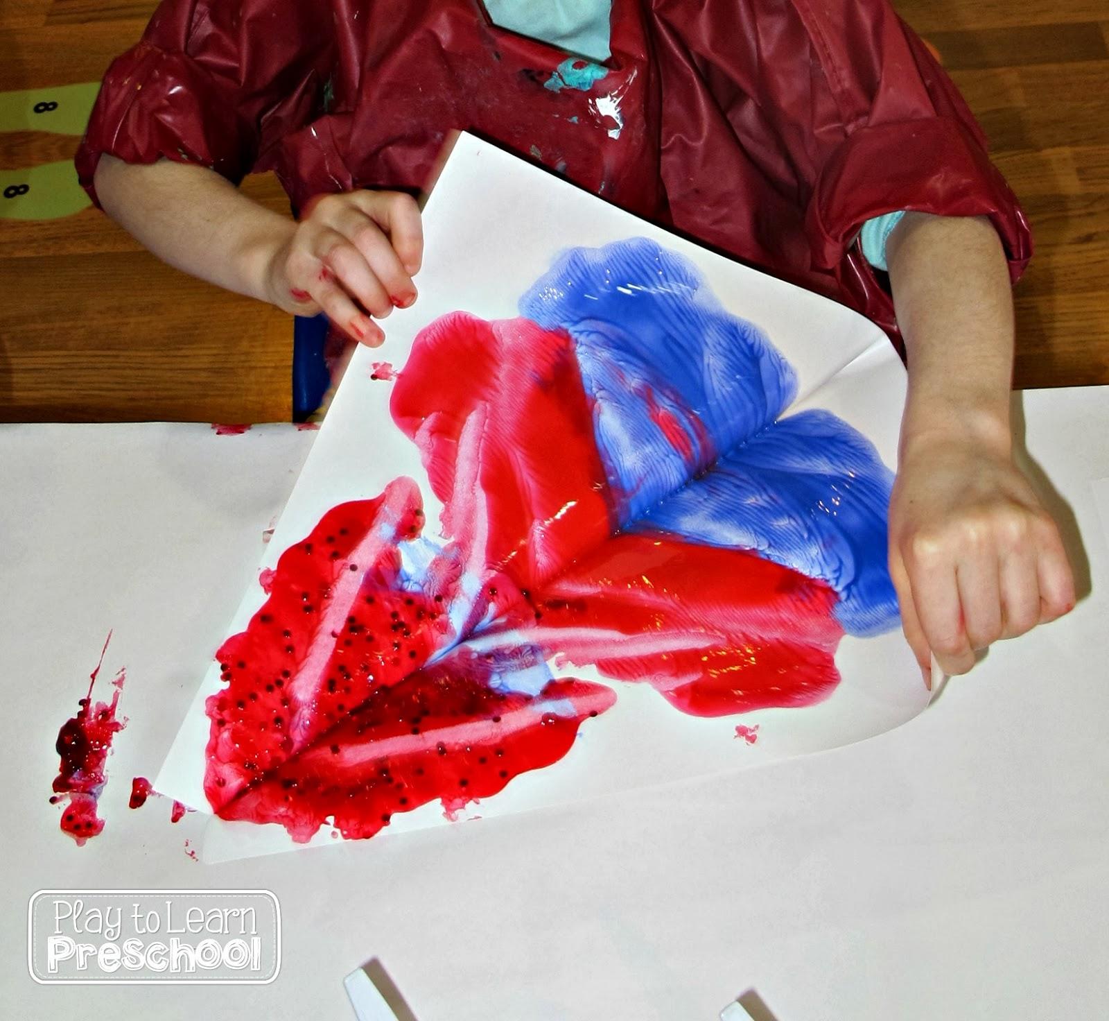 Play To Learn Preschool Symmetrical Mittens