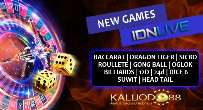new game idnlive - kalijodo88