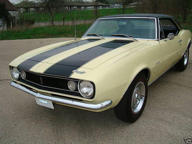 autos am ricaines blog muscle cars l gendaires 1967 chevrolet camaro z28. Black Bedroom Furniture Sets. Home Design Ideas