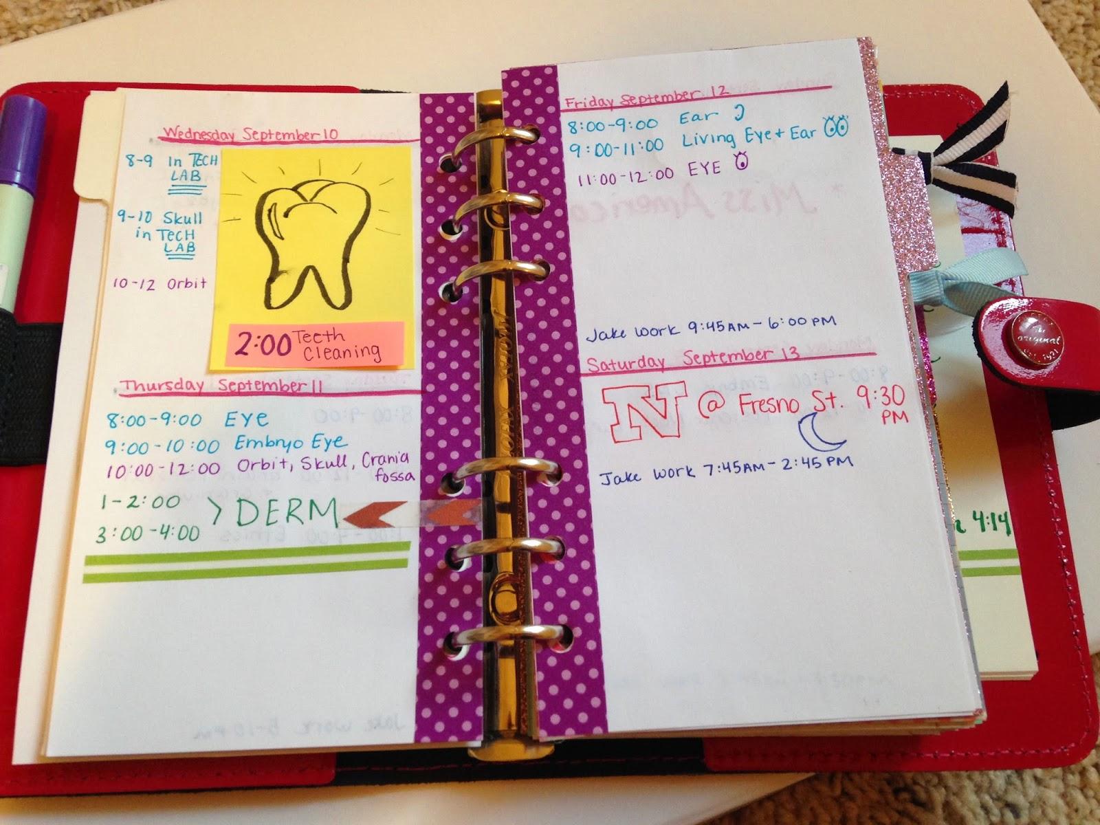 planner ideas new personal filofax review fuschia