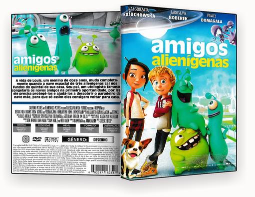 CAPA DVD – AMIGOS ALIENIGENAS 2018 – ISO