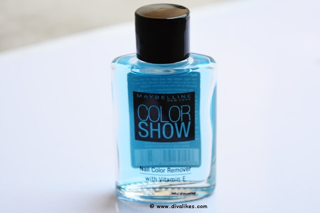 Maybelline Color Show Nail Color Remover Review