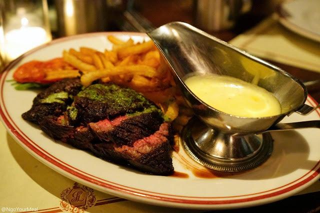 Steak Frites at Gaslight in Boston
