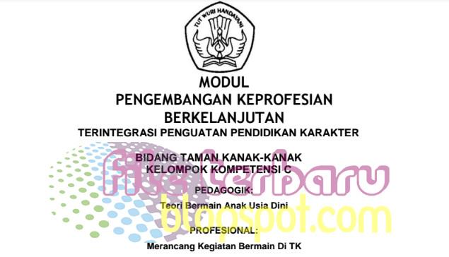Download Modul SIM PKB PAUD TK Semua Kompetensi