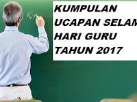 Kumpulan Selamat Hari Guru Tahun 2017
