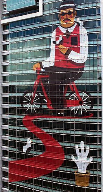 Street Art By Agostino Iacurci At The Fubon Art Foundation In Taipei, Taiwan. 3