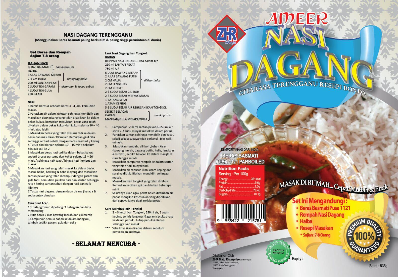 aneka resepi masakan  menyelerakan  jenis produk ameer zhr Resepi Nasi Beriani Arab Enak dan Mudah
