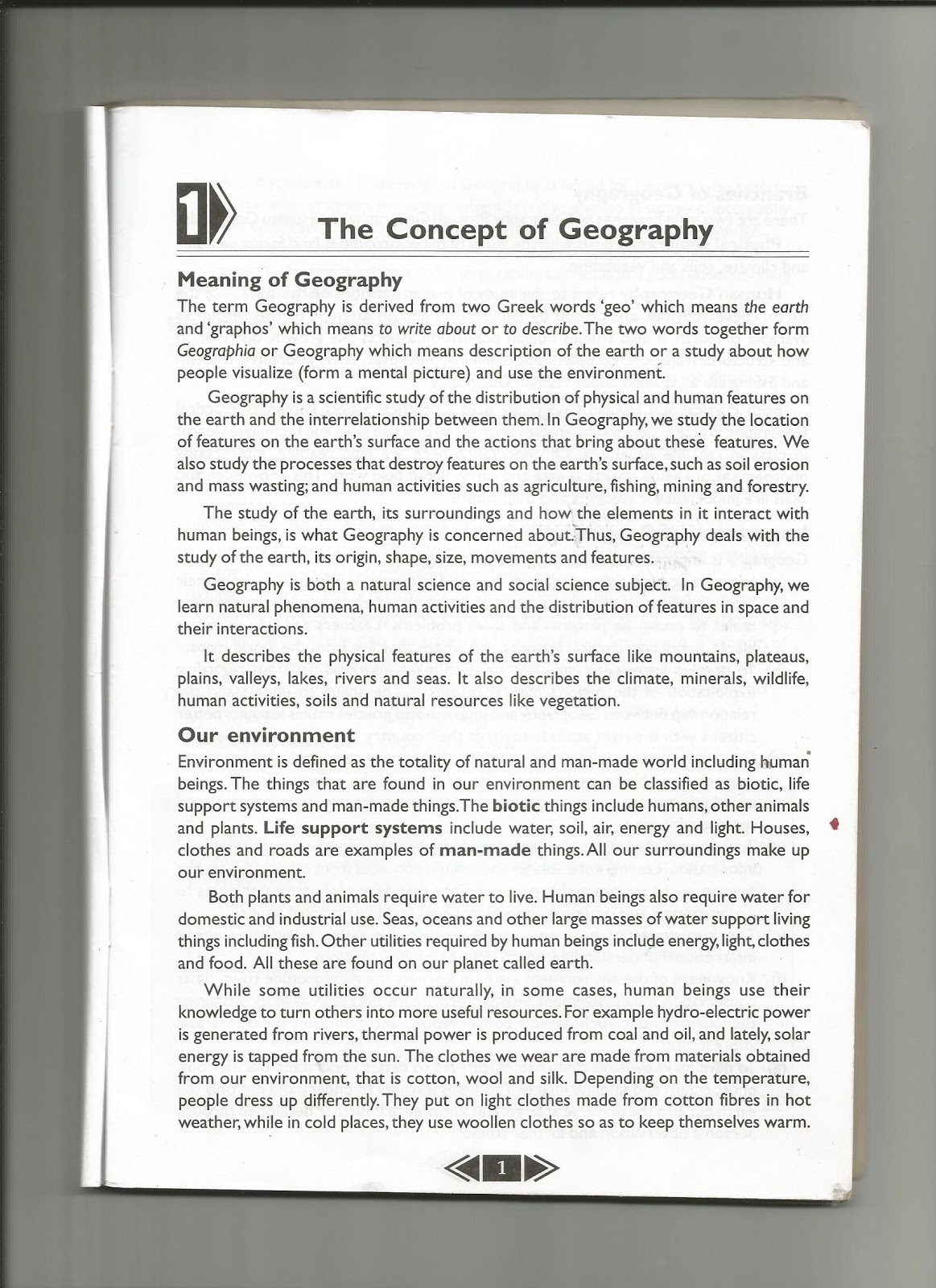 school certificate geography past papers