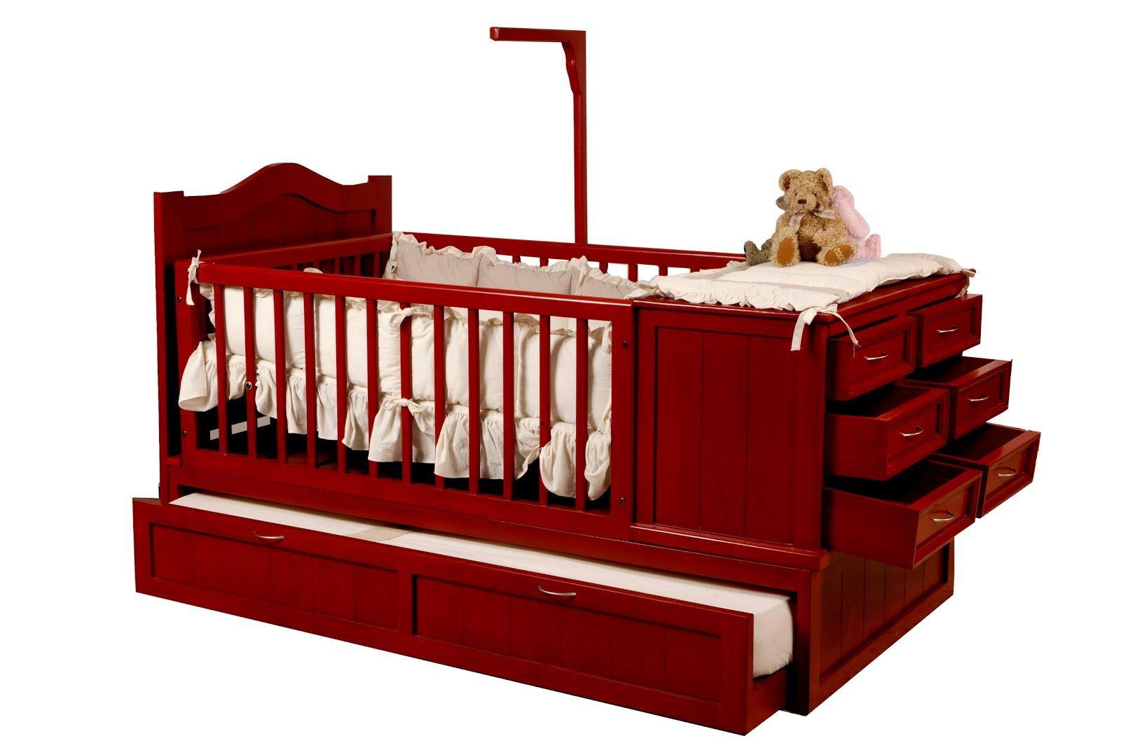 Ashanti Kids Camas Cuna Transformables - Cama-cuna-para-bebs