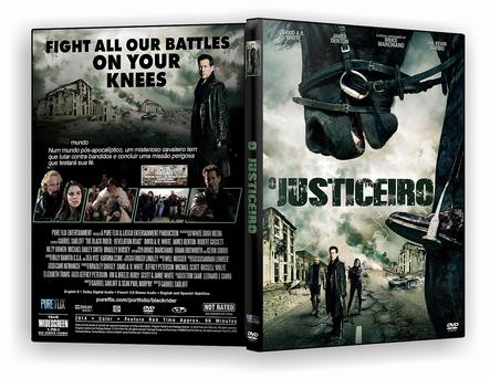 CAPA DVD – O Justiceiro Estrada do Caos – AUTORADO