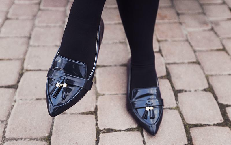 ZARA tassel loafers
