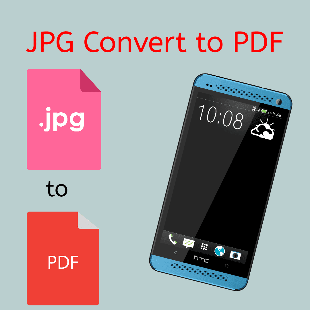 How to Convert JPG File to PDF On Android | Images Convert to PDF