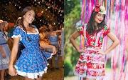[Inspiração] Looks de festas Juninas para mulheres