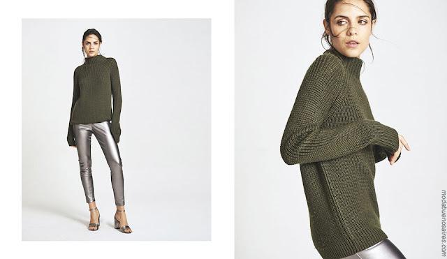 Sweaters otoño invierno 2018 ropa de mujer.