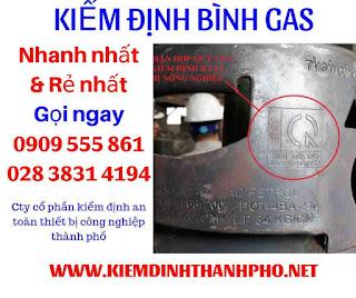 Kiểm định Bình gas là gì
