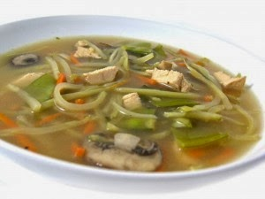Healthy Chinese Chicken Vegetable Soup