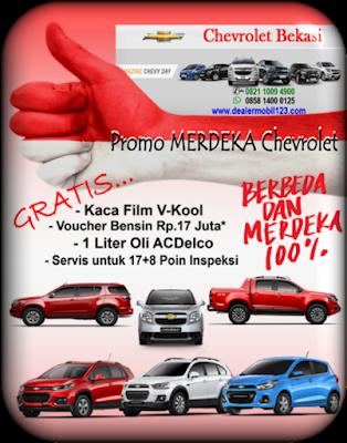 Promo MERDEKA Chevrolet Bekasi 2017