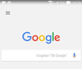 Menggunakan ok google untuk membuka aplikasi