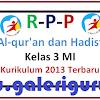RPP Al-qur'an dan Hadist Kelas 3 MI K-13 Terbaru _Galeri Guru