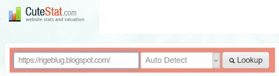 Pengertian Dan Cara Menggunakan LSI Keyword Di Blogger - Check Blog Lengkap dengan Cutestat