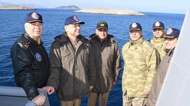 Απειλές από τον Τούρκο αρχηγό: Έχουμε τη δύναμη για στρατιωτική επιχείρηση στο Αιγαίο!