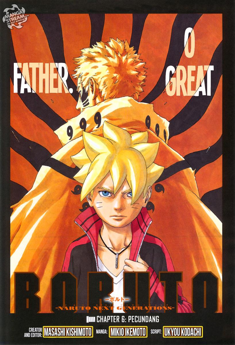 Boruto : Naruto Next Generation Chapter 6