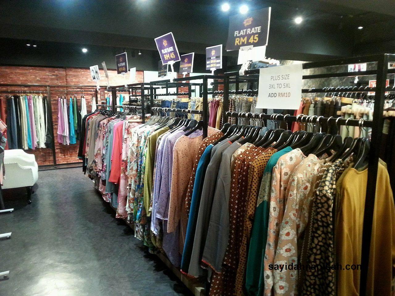baju muslimah plus size